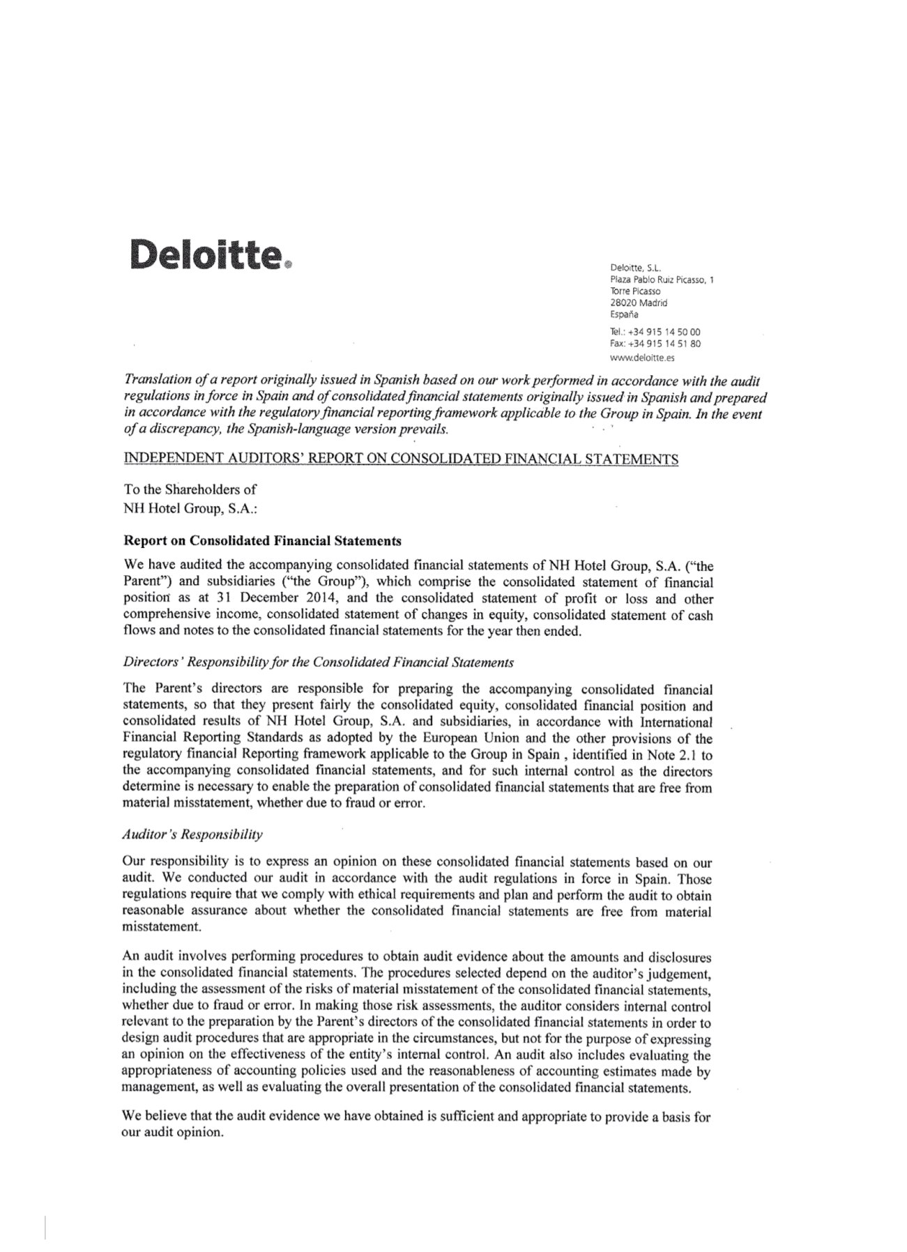 Consolidated financial statements and management report consolidated financial statements and management report page 6 independent auditors report on altavistaventures Image collections